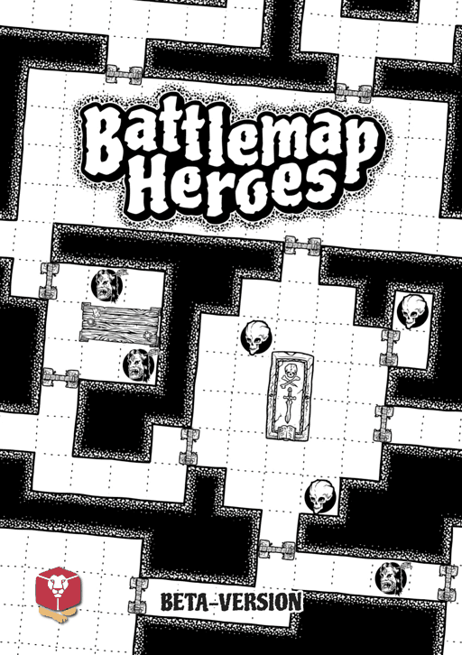 Cover Battlemap Heroes
